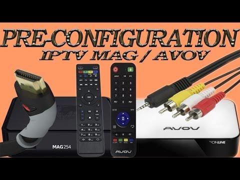 Pre-configuration IPTV MAG 254 | Infomir - YouTube