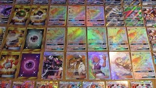 My Pokemon Sun and Moon Card Collection