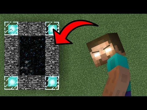 New Portal to the Herobrine Dimension in Minecraft (Pocket Edition)?