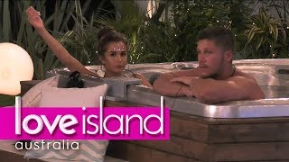 Millie and Dom plan to couple up   Love Island Australia 2018
