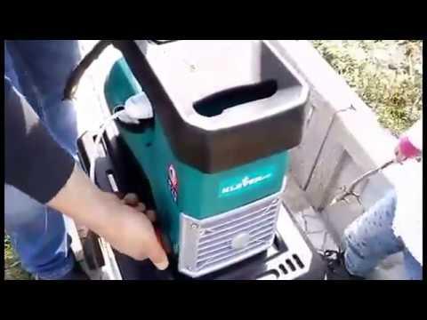 Садовый измельчитель Top Craft 2400 - YouTube