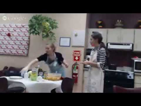 Google+ Hangout - Healthy Holiday Vegetable Sides