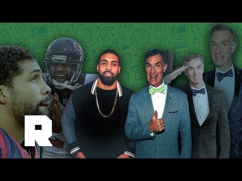 A Deep Conversation About Einstein, Atheism, and Bumblebees | Bill Nye & Arian Foster | The Ringer