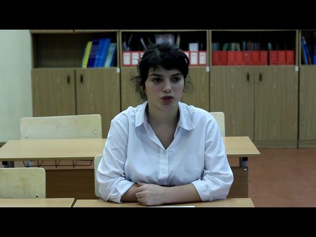 Изображение предпросмотра прочтения – ЕлизаветаУмбетбаева читает отрывок изпроизведения «Узкая комната» НатальиВладимировныИвановой