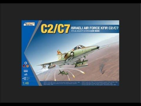 Kinetic 1/48 KFIR C2/C7 Scale Model Review