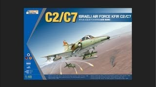 Kinetic 1/48 KFIR C2/C7 Scale Model Review