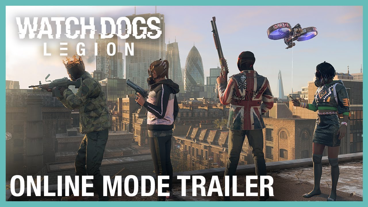 Watch Dogs: Legion: Online Mode Launch Trailer | Ubisoft