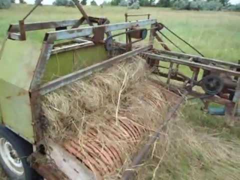 Как сделать сено подборщик