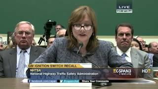 GM CEO Mary Barra Sworn Opening Statement on Ignition Switch Recall (C-SPAN)