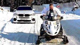 უხეში ტესტ დრაივი - BMW X5 M - F85 - VS თოვლმავალი!
