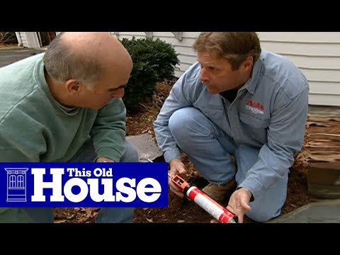 diy flagstone walkway how to repair a mortared flagstone walkway this old house youtube
