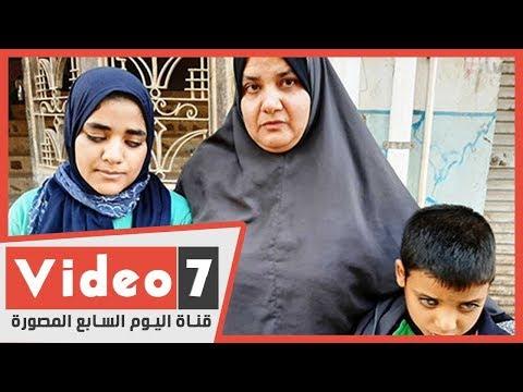 قصة أم تعمل عاملة نظافة بمحافظة أخرى للبقاء بجوار طفليها المكفوفين  - 12:00-2019 / 12 / 4