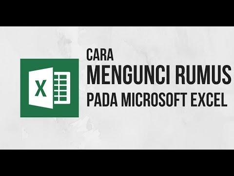 Cara Mengunci Cell pada Rumus Excel - Tutorial Excel Indonesia