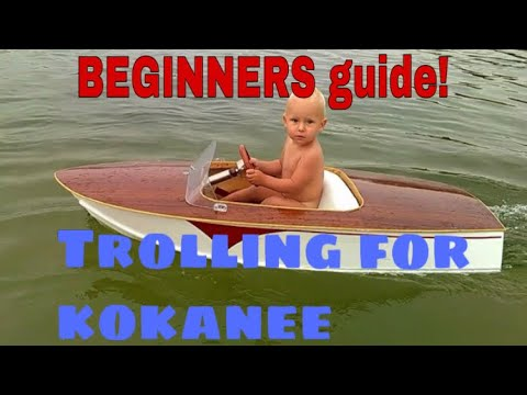 BEGINNERS Guide To KOKANEE Fishing In Merwin Lake
