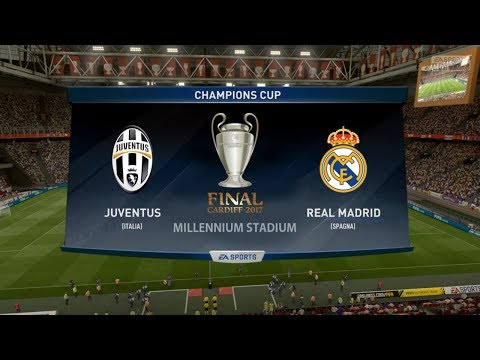 JUVENTUS VS REAL MADRID |CHAMPIONS LEAGUE FINAL 2017| 3.06.2017 - FIFA 17 Predicts - Pirelli7