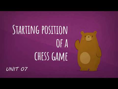 Chess and English - The starting position (Unit 7, song)