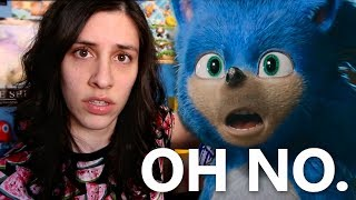YIKES. Sonic the Hedgehog 2019 Movie Trailer Reaction - JustJesss