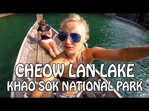 Khao Sok National Park & Cheow Lan lake in Thailand ❤ Katya's Vlog