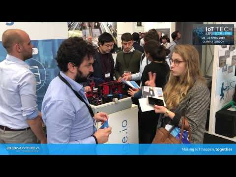 Domatica was present at the IoT Tech Expo Global 2019