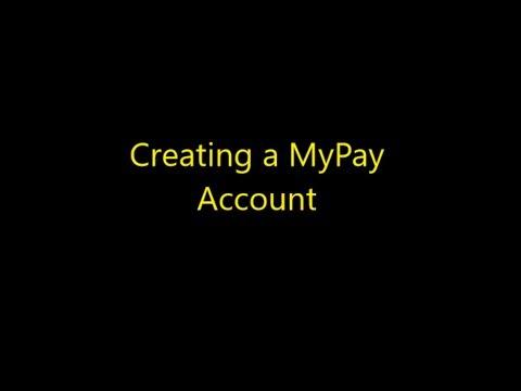 Bonus Episode 006 - Creating a MyPay Account
