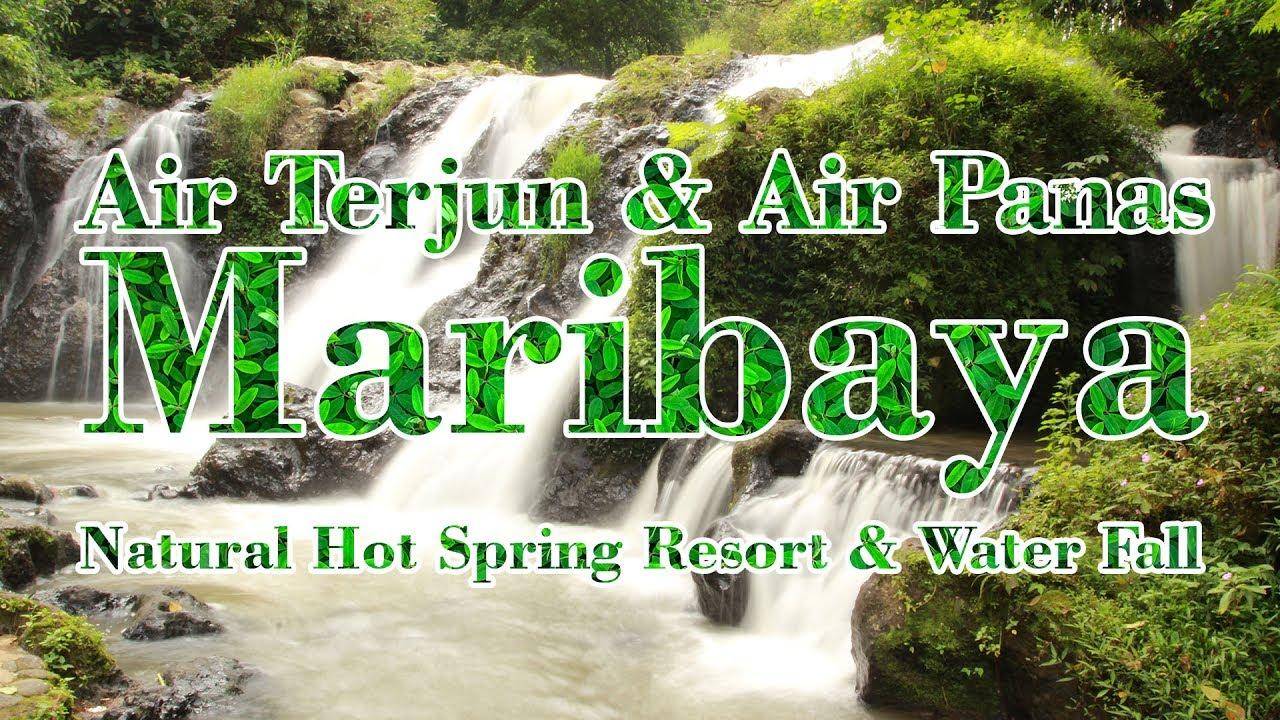 vlog Jalan9 ke Air Terjun & Kolam Rendam Air Panas Maribaya