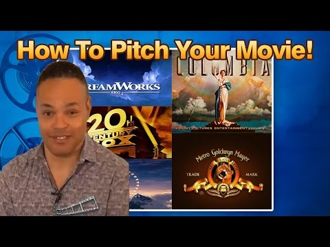 How To Pitch Your Movie To Film Studios