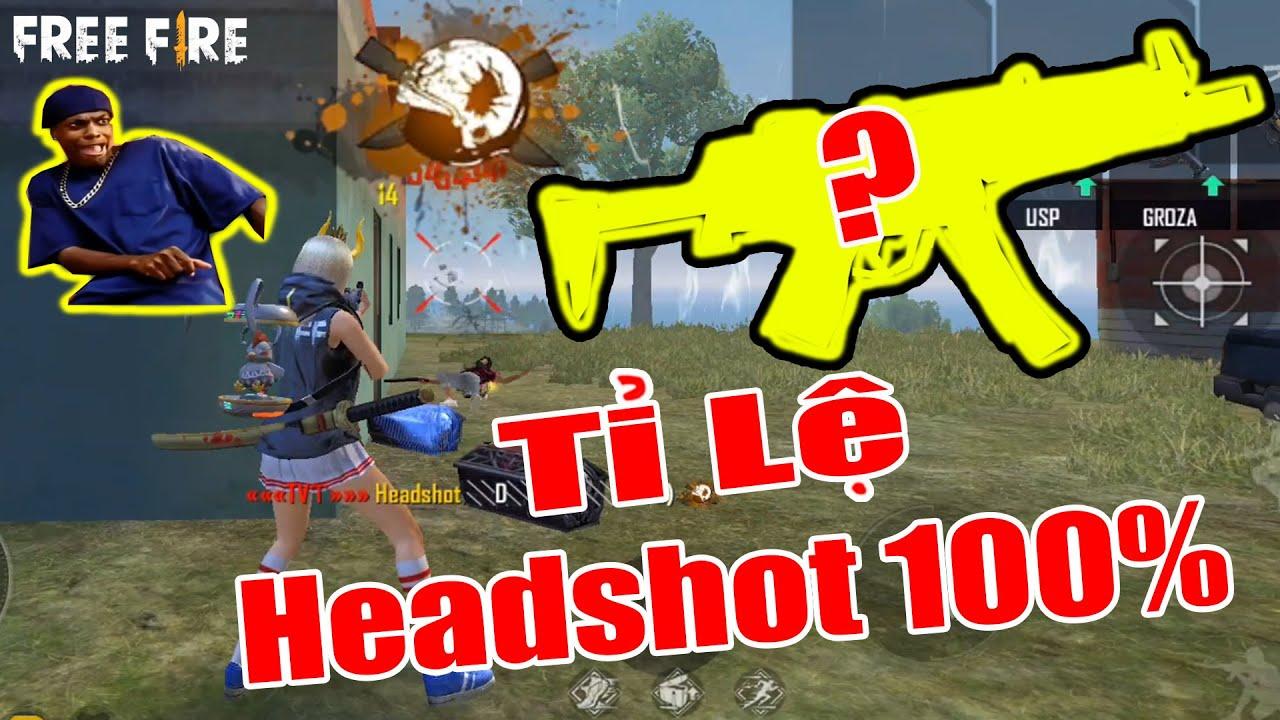 Tin Được Không ? MP5 Không SKin + Phụ Kiện Giết Địch Tỉ Lệ Headshot 100% Là Đây | Free Fire