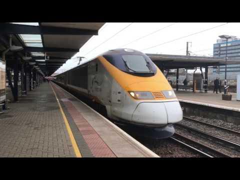(HD) Original Class 373 Eurostars, seen at Ashford & Ebbsfleet International 1st & 2/3/17