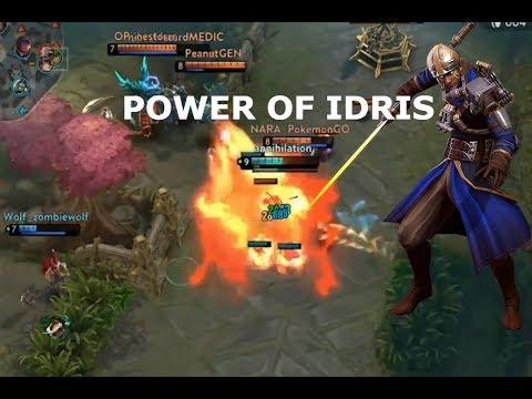 POWER OF IDRIS! Vainglory 5v5