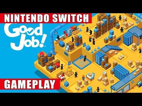 Good Job! Nintendo Switch Gameplay