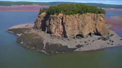 Five islands above the Bay Of Fundy