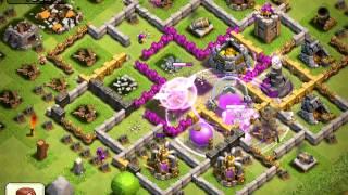 Clash of Clans - massive 750K+ resources raid (TH& vs. TH7) - Video 1