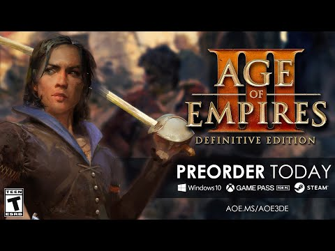 Age Of Empires III: Definitive Edition Trailer - Pre-Order Now!
