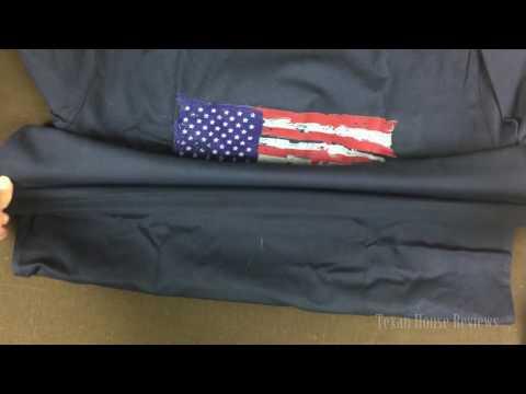 Men's American Flag Print T-shirt Stars & Stripes Tank Top Shirt By Bbyellow