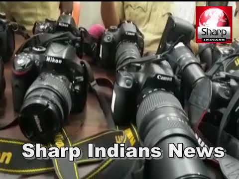 Rein Bazar Police Arrested 2 Persons Who Run Away With 11 DSLR Cameras || Hyderabad 2018