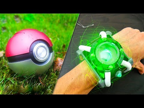 5 CARTOON GADGETS IN REAL LIFE ▶ Ben10 Omnitrix Pokemon Ball