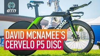 David McNamee's Cervelo P5 Disc | Pro Race Day Tech & Prep