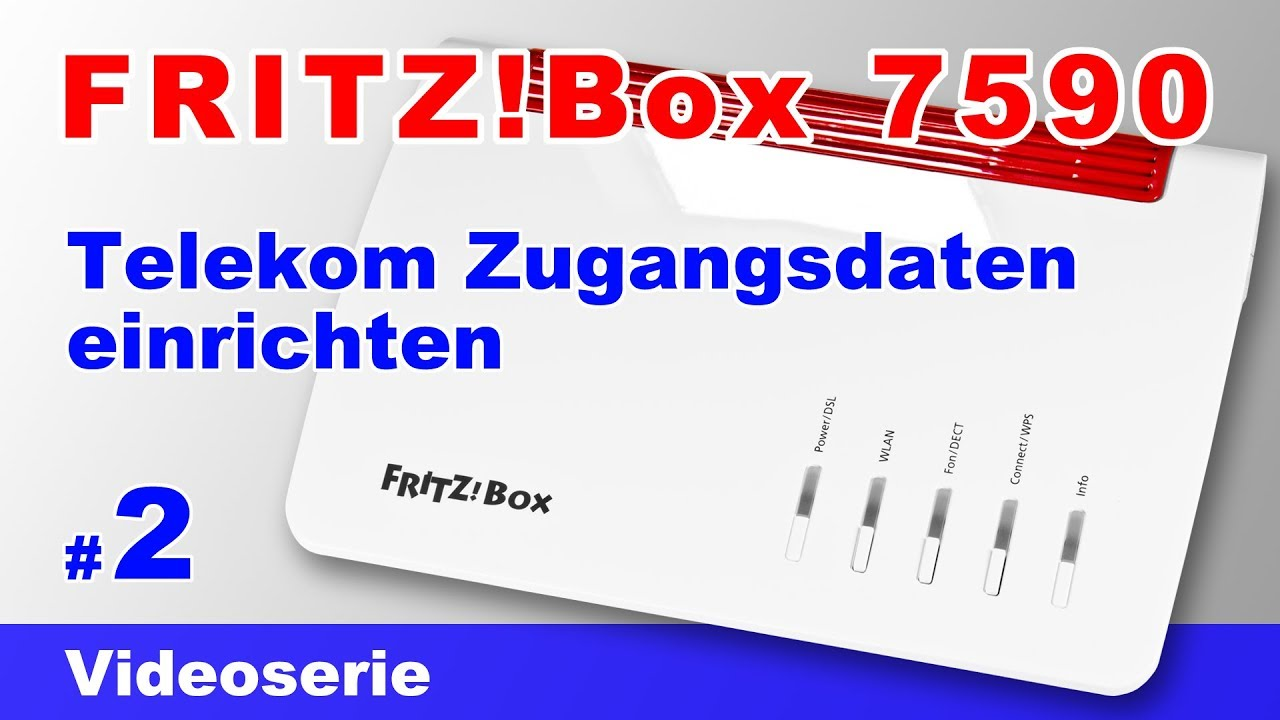 fritzbox 7590 einrichten am telekom vdsl anschluss mit dem assistenten 2 youtube. Black Bedroom Furniture Sets. Home Design Ideas