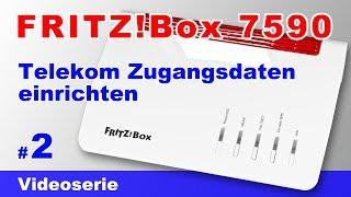 FRITZBox 7590 am Telekom VDSL Anschluss mit dem Assistenten einrichten #2