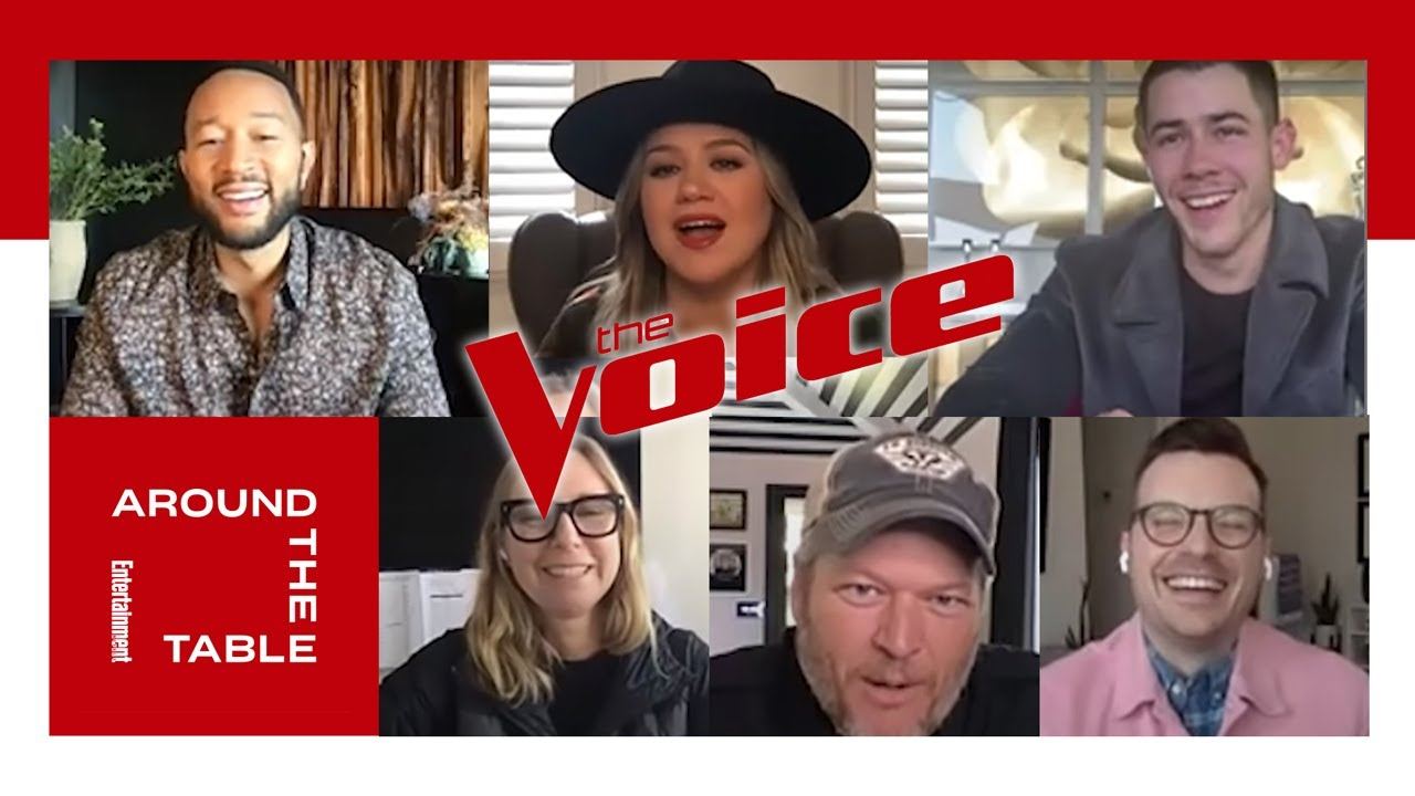Around the Table with Judges from 'The Voice'