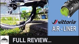 Vittoria Air Liner Full Review // Flat Prevention at 10 PSI // Comparable to Cush Core