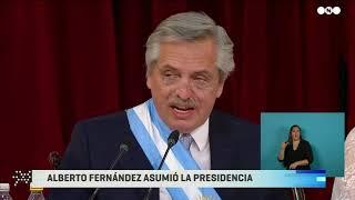 DISCURSO completo de ALBERTO FERNÁNDEZ al asumir como PRESIDENTE en el Congreso