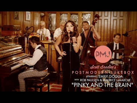 Pinky And The Brain Theme - Postmodern Jukebox (ft. Emily Goglia, Rob Paulsen, Maurice LaMarche)