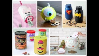 21 Simple and Cool DIY Coin Bank Ideas