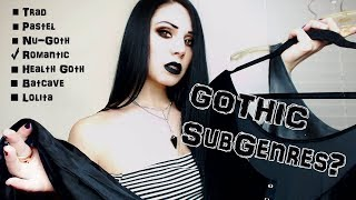 You're Not a Real Goth Until You Choose Your Type