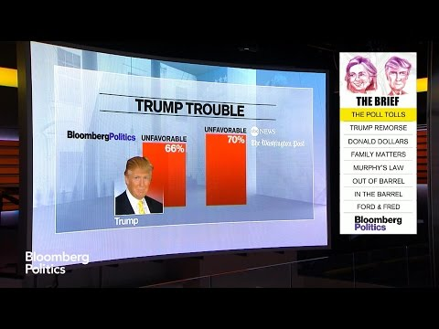 Trump's Unfavorable Rating at 66% in Bloomberg Poll