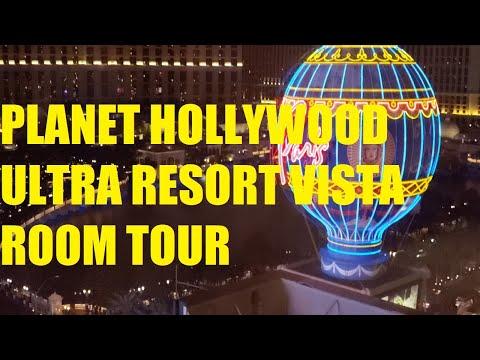 Planet Hollywood - Ultra Resort Vista Room Tour