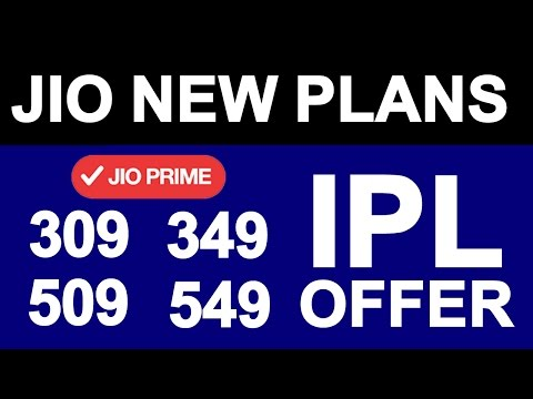 JIO New Tariff Plans Launched 309, 509, 349, 549 | Offer After Summer Surprise | Prime Vs Non Prime
