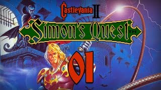 """Castlevania II: Simon's Quest Прохождение - Серия №1: """"Спустя 7 лет..."""""""