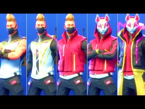 FORTNITE - DRIFT Skin ALL PHASES 1-6 *NEW SEASON 5 SKIN*